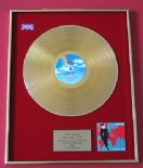 KIM WILDE - Another Step - 24 Carat GOLD Coated LP PRESENTATION DISC